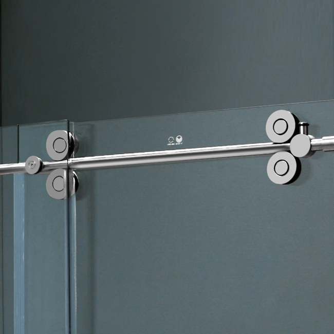 Vigo 60 inch frameless tub door 38 clearchrome hardware product vigo 60 inch frameless tub door 38 clearchrome hardware planetlyrics Image collections